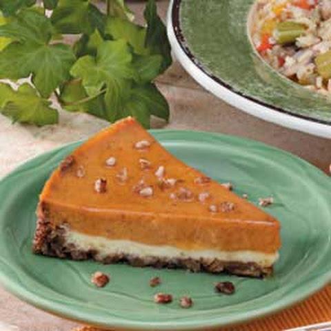 Maple Pecan Pumpkin Cheesecake Recipe | Yummly
