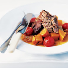Slow-cooked Lamb With Vegetables