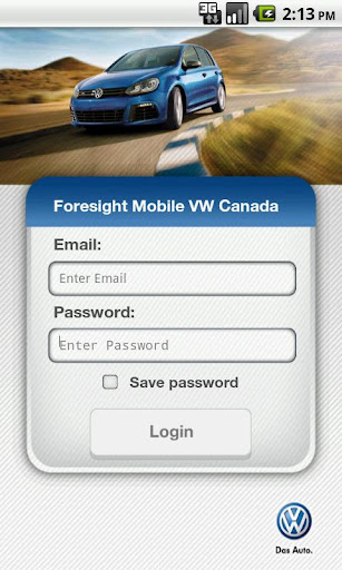 Foresight Mobile™ VW Canada