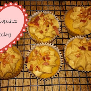 Maple Bacon Cupcakes with Maple Frosting