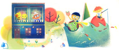 Google Doodle Rafael Pombo's 180th Birthday