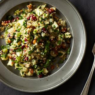 Quinoa Salad Cranberries Apple Recipes