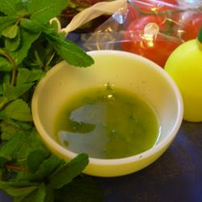 Mint and Lemon Dressing