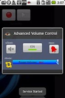 Screenshot of AVC (Advanced Volume Control)