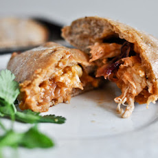 Mini Whole Wheat BBQ Chicken Calzones