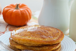 Easy and Delicious Pumpkin Patch Pancakes with Apple Cider Syrup Recipe by Makeeze Recipes