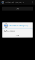 Screenshot of Mobile Radio Frequency