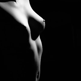 From an Angel by Imagesby Jake - Nudes & Boudoir Artistic Nude ( breast, torso, lighting, shadow, nipple )