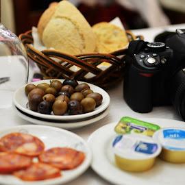Dia de Trabalho by Tacito Alexandro - Food & Drink Meats & Cheeses