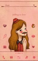 Screenshot of Falling love(gentle lady)Dodol