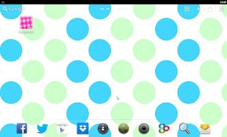 Screenshot of Polka Dots Live Wallpaper