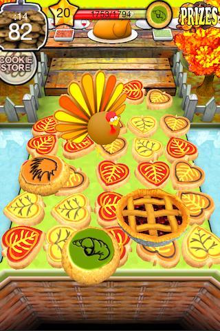 Cookie Dozer Thanksgiving