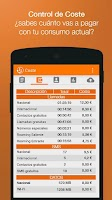 Screenshot of Gastos Celular