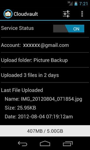 CloudVault Photo Uploader