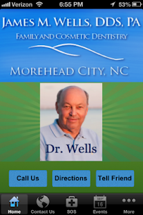 Wells Family Dentistry - screenshot