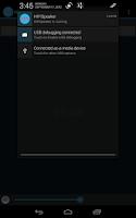 Screenshot of Android HIFI