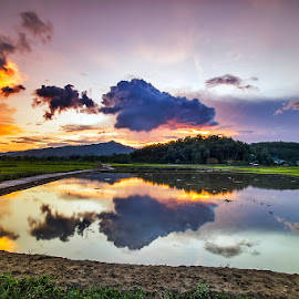 Reflektion by Susanto Tjhia II - Landscapes Sunsets & Sunrises