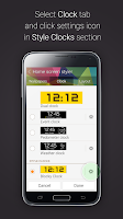 Screenshot of Blocky Clock for Gear Fit
