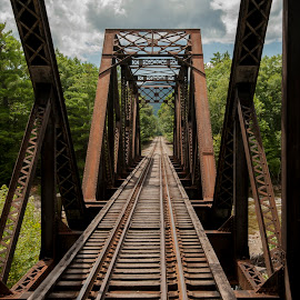 New Hampshire Trestle by Keith Reling - Buildings & Architecture Decaying & Abandoned ( conway, trestle, new hampshire )