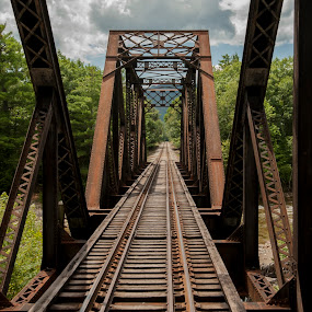 New Hampshire Trestle by Keith Reling - Buildings & Architecture Decaying & Abandoned ( conway, trestle, new hampshire,  )