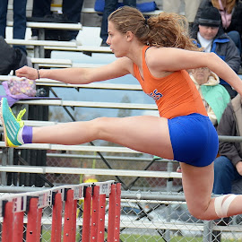 Hurdle Girl 2 by WR Young - News & Events Sports