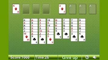 Screenshot of Freecell Solitaire Free