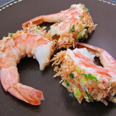 Coconut Shrimp With Exotic Cream Filling