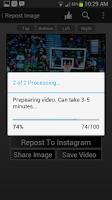 Screenshot of RepostWhiz Repost Videos Photo