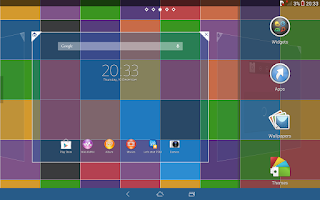 Screenshot of Xperia™ theme - Color Pixel