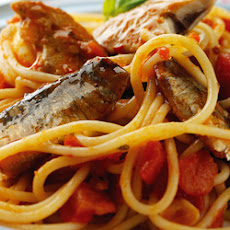 Sardine Pasta Recipe with Mozzarella, Tomato & Peri Peri