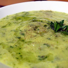 Zucchini and Rosemary Soup