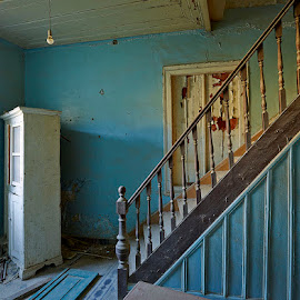 The Staircase by Fokion Zissiadis - Buildings & Architecture Decaying & Abandoned ( indoor decay private house samos island )