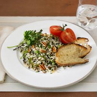 Long Grain and Wild Rice Herb Salad with Toasted Pecans