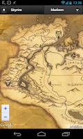 Screenshot of Skyrim Map