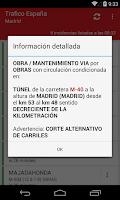 Screenshot of Trafico España