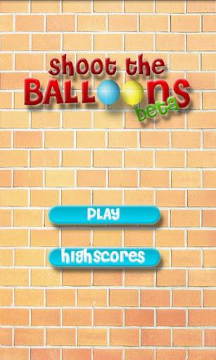 Shoot the Balloons