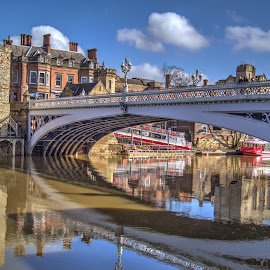 Lendal Bridge by Stephen Hall - Buildings & Architecture Bridges & Suspended Structures ( lendal bridge, ouse, york, river )