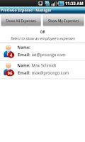 Screenshot of ProOnGo - Expense Tracker