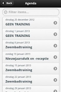 Duikvereniging Delphinus - screenshot