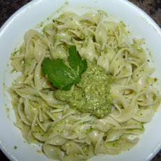 Green Chile-Cilantro Pesto Sauce (Pasta)