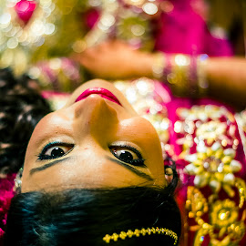 Happy by Kulpreet Bhatia - Wedding Bride ( portraiture, portrait photographers, portraits of women, portraits, portrait )