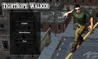 Screenshot of TightRope Walker 3D