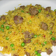 Rice Pilaf With Lamb