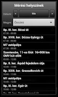 Screenshot of Traffipaxjelző