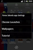 Screenshot of Faroe Islands flag clocks