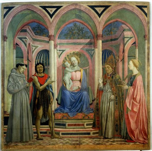 Veneziano Domenico, Pala di Santa Lucia dei Magnoli