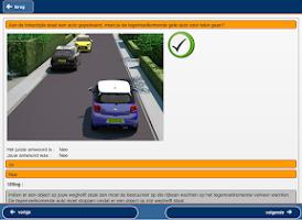 Screenshot of Rijles.nl autotheorie (B)