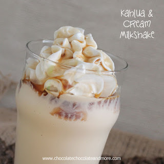 Kahlua and Cream Milkshake