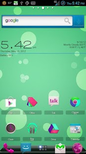 ADW Theme CandyColorSwap - screenshot