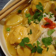 Thai Chicken Curry With Pineapple